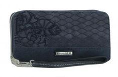 Stickerei blau Geldbörse kimmidoll Blätter Emblem - Bags & more Emblem, Zip Around Wallet, Style, Fashion, Embroidery, Blue, Swag, Moda, Fashion Styles