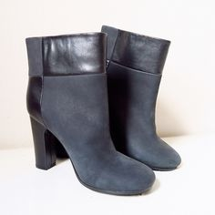 NEED GONE❗️See by Chloé Ankle Booties Model: SB21116 Leather and embossed leather upper. Pull-on construction. Plain toe. Leather lining. Lightly padded insole. Synthetic outsole. Imported.  Measurements: Heel Height: 3 in Weight: 12 oz Circumference: 11 3⁄4 in Shaft: 6 3⁄4 in  *pic 3: slight mark from store security tag.*  SORRY.. NO TRADES🙅🙅 OFFERS WELCOME 💁💁 See by Chloe Shoes Ankle Boots & Booties