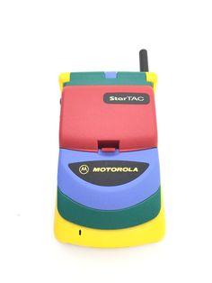 Motorola StarTac 70 Rainbow - Vintage Mobile