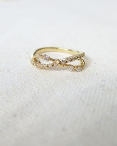 louun — Bow Infinity Ring