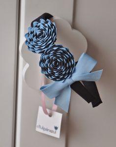 El Tulipán Azul : Diademas, coleteros y tocados: Diadema CÍRCULOS