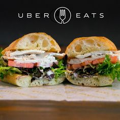 "DALLAS today our Turkey  Pesto will be featured on #UberEats! Our food delivered to you in less than 10 minutes. Just pop open the Uber app from 11am - 2pm to order a delicious lunch.  _ First time using UberEATS use our code to get $10 Off your first meal! The code is ""EHSCEATS"" by easthamptonsandwich"