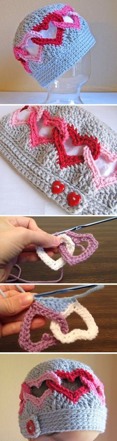 Today in this article you are going to learn to crochet a heart chain hat. Well, in reality you are going to learn a lot more, eventually by mastering the technique you are going to be able to crochet: heart chain hat, scarf, headband, blanket, etc. We have found a very profound video tutorial that… Read More Crochet Heart Chain Hat