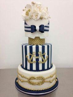 Nautica wedding cake