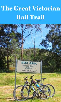 Cycling the Great Victorian Rail Trail: Victoria's longest rail trail. New Travel, Luxury Travel, Travel Tips, Bike Trails, Biking, Victoria Australia, Travel Information, Australia Travel, Travel Around The World