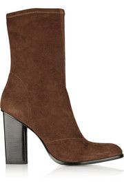 Alexander WangGia stretch-suede boots