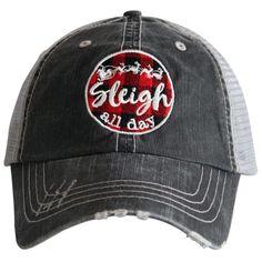 Sleigh All Day.  Women's Trucker Hat