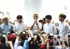 BTS Press Conference at Siam Center, Bangkok, Thailand #BTS #방탄소년단 #BTSLIVEONSTAGEEPILOGUE #BTSLIVEINBANGKOK2016