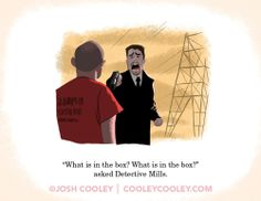 COOLEY! — Seven.  Pixar storyboard artist Josh Cooley turns iconic scenes from R-rated movies--into a children's book!