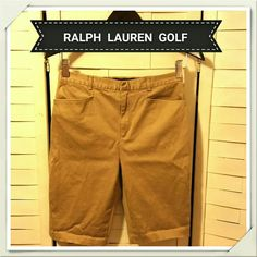 3/ $24 RL GOLF Bermuda Shorts NEW LIST EUC Preppy, streamlined and classic! 97% cotton, 3% spandex. Measurements available upon request Ralph Lauren Shorts