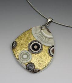 Klimt Style Bracelet with Milena Scarcella #craftartedu