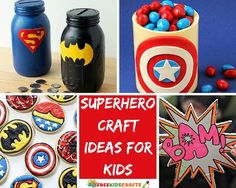 Superhero Craft Ideas For Kids. From superhero costume ideas to fun superhero crafts for kids to make, find adorable superhero ideas based on your favorite comic book characters.