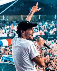 Louis on stage, Ultra2017