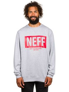 aa8466a5 Neff New World Crew Sweater Quick and easy ordering in the Blue Tomato  online shop . The Neff New World Crew Sweater.