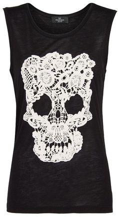 Skull T-Shirt - very pretty!