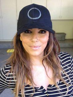 Eva Longoria rockin' Gents BOUND Cap! #EvaLongoria #Hat