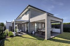 OUTDOOR LIVING / ALFRESCO - Villina Hills with Timeless Facade on display at Emerald Hills, Leppington Australian Architecture, Australian Homes, Custom Home Designs, Custom Homes, New Home Builders, Investment Property, Facade, Gazebo, Outdoor Living