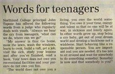 Words for teenagers. And many others.