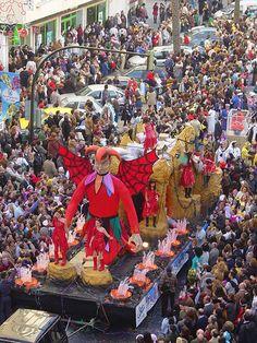 Carnival in Cadiz, Spain