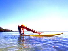 Kikidoll Fitness SUP  Stand up paddle yoga Charlotte in kikidoll