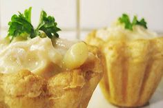 Tarteletter med høns i asparges - Powered by @ultimaterecipe