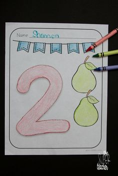 This product includes 10 Black and White Number Coloring Pages. Each page displays a number and pictures to correspond with the number. Bubble Numbers, Everything Preschool, Classroom Hacks, Teaching Numbers, Number Recognition, Free Activities, Early Childhood Education, Teaching Resources, Coloring Pages