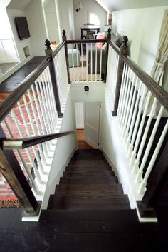 This renovation has literally everything! It's like a suite on the top floor of the house. That's what I want. // from the nato's: attic renovation. before and after pictures.