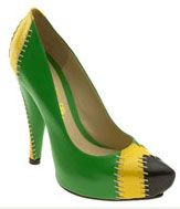 Yes, you can wear the Jamaican flag on your feet!