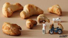 Baker's bike  #creativityfood #foodart #foodartist #foodproduct #brioche #baker