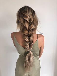 Chic Hairstyles, Bohemian Hairstyles, Wedding Hairstyles For Long Hair, Curled Hairstyles, Braids For Wedding Hair, Protective Hairstyles, Long Hair Braided Hairstyles, Princess Hairstyles, Prom Hairstyles