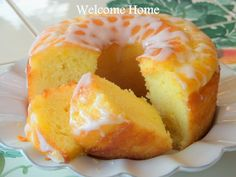 I love this cake...probably one of the prettiest and most delicious cakes my Mom every taught me how to make. And it...