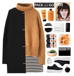 """""""//Pack and Go: Milan FW//"""" by lion-smile ❤ liked on Polyvore featuring T By Alexander Wang, Balenciaga, NARS Cosmetics, I Love..., Michael Kors, philosophy, CB2, women's clothing, women and female"""