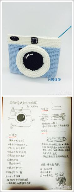 Discover thousands of images about Diy Crochet Coin Purse, Crochet Pouch, Crochet Purses, Crochet Dolls, Love Crochet, Crochet For Kids, Knit Crochet, Crochet Crafts, Crochet Projects