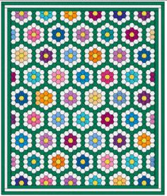 This is the layout I used for Amanda's quilt.