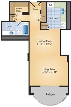 Studio Apartment Layout small studio apartment floor plans | place photos see floor plans