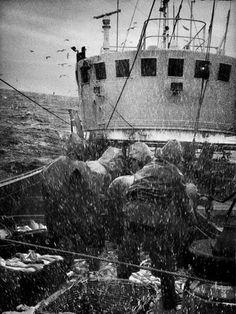 Pêche par gros temps - Jean Gaumy