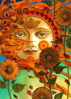"""""""Autumn Sun"""" by David Galchutt"""