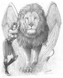 winged lion tattoo - Google Search