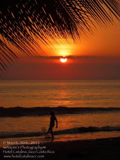 Sunset at Jaco Beach Costa Rica