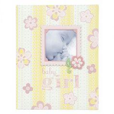 C.R. Gibson Bound Keepsake Memory Book of Baby's First 5 Years, Lulu