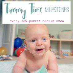 Why is Tummy Time so important for babies? Learn about all the little  developmental milestones your baby is working on during Tummy Time...and  prepare to be amazed by your little one's skills!