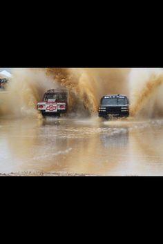 Back in Black mud truck