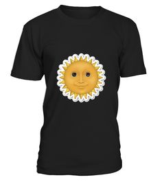 # Sun Face Emoji T shirt Sunshine Emoticon Shine Moon .  HOW TO ORDER:1. Select the style and color you want: 2. Click Reserve it now3. Select size and quantity4. Enter shipping and billing information5. Done! Simple as that!TIPS: Buy 2 or more to save shipping cost!This is printable if you purchase only one piece. so dont worry, you will get yours.Guaranteed safe and secure checkout via:Paypal | VISA | MASTERCARD