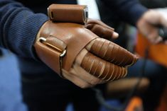 NeoMano prototype glove is designed to assist opening and closing the hand for a person with paralysis. Courage Kenny Rehabilitation Institue