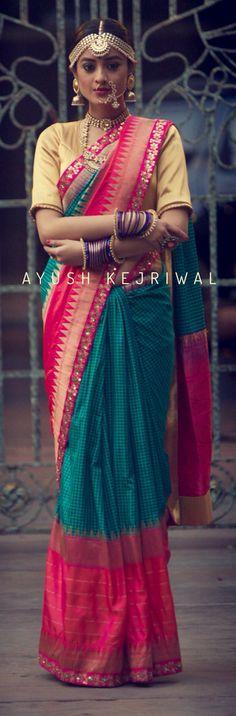 Banarasi Saree by Ayush Kejriwal