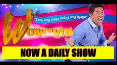 Wowowin 15 june 2016 Eng Sub Full Episode Online Gma Shows, Dramas Online, All Tv, Live Hd, August 26, Episode Online, Full Episodes, Replay, Pinoy