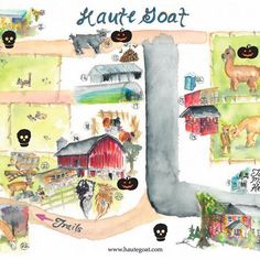 We'll have a super fun Halloween Treasure Hunt at the farm as part of our Halloween Family Fest at Haute Goat! See if you can figure out our tricks and find some treats! #hautegoat #goats #alpacas #halloween #DiscoverON #ExperienceKN