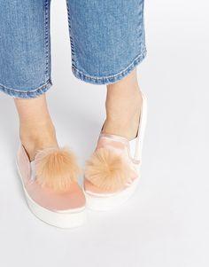 ASOS | DARRELL Pom Pom Sneakers