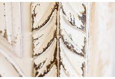 Distressed White Corbel Wall Shelf