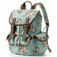 A floral backpack for school, since mine is falling apart. This is one of my favorite styles, with plenty of room, and plenty of pockets.